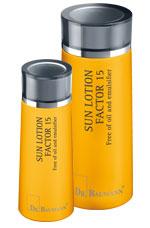 SUN GEL LOTION FACTOR 15 Free of oil and emulsifer
